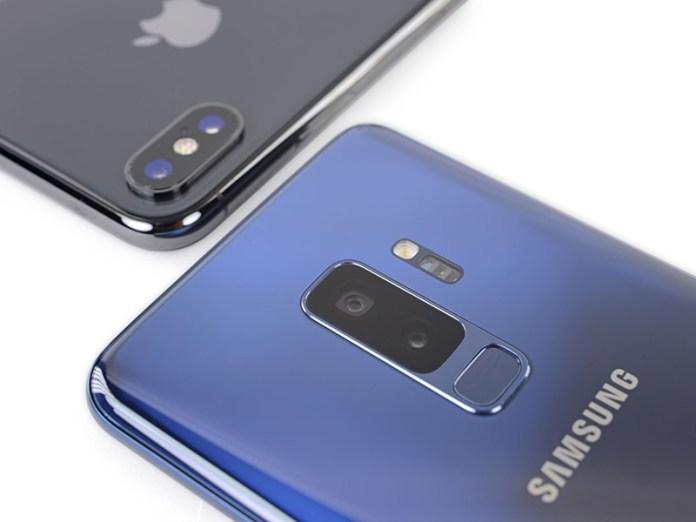 Xiaomi IDC Huawei Apple iPhone X Samsung Galaxy S9 Android