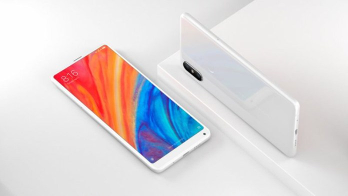 Xiaomi Mi MIX 2S Android Oreo 4