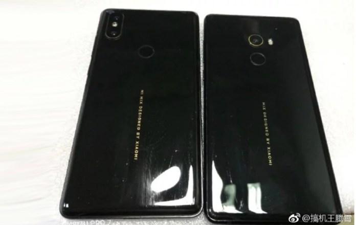 Xiaomi Mi Mix 2S: Imagem do alegado smartphone mostra a sua traseira