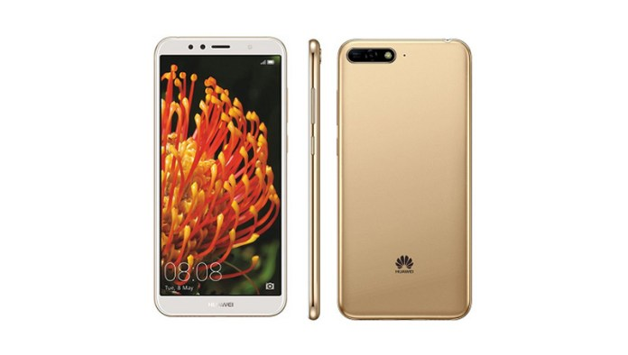 Android Huawei Y6 2018 smartphone