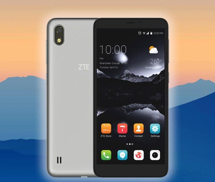ZTE A530 Android Oreo 18:9 smarptphone