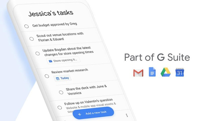 Google Tasks Android iOS da Apple