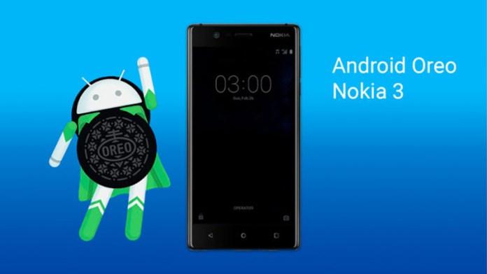 Nokia 3 Android Oreo atualização