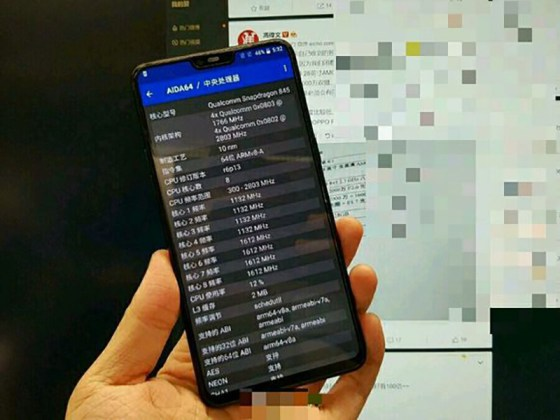OnePlus 6 Android Oreo Snapdragon 845