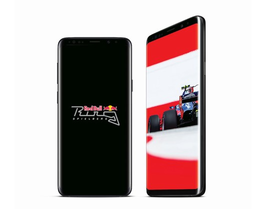 Samsung Galaxy S9 Red Bull Android