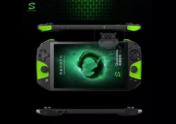 Xiaomi Black Shark smartphone Android para jogos