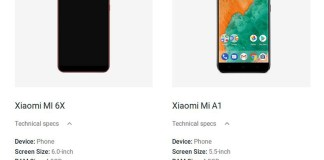 Xiaomi Mi 6X Android One Google