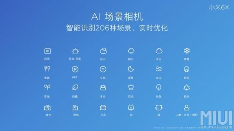 Xiaomi Mi 6X Android Oreo Snapdragon 660