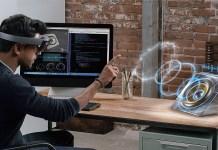 Google Microsoft HoloLens Realidade Aumentada