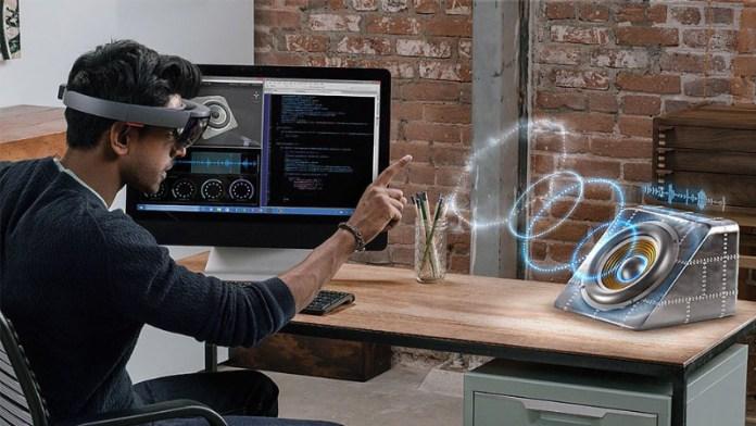 Google Microsoft HoloLens Realidade Aumentada óculos AR