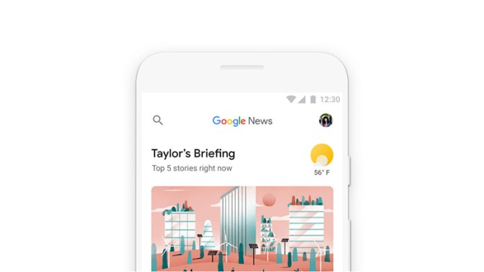Google News Android iOS Web 1