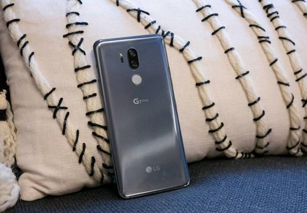 LG G7 ThinQ Android Oreo Google 6