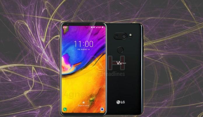 LG V35 ThinQ Android Oreo Google