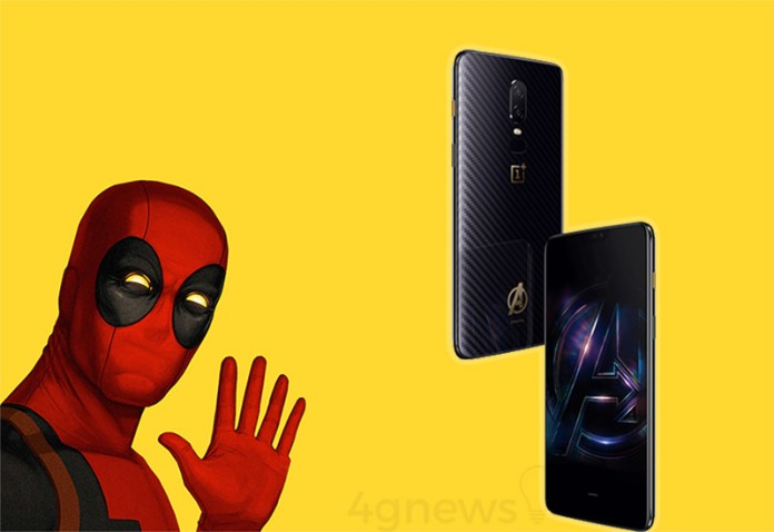 OnePlus 6 Avengers Infinity War Limited Edition 5 OnePlus 6 Avengers: Infinity War