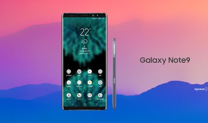Samsung Galaxy Note 9 bateria