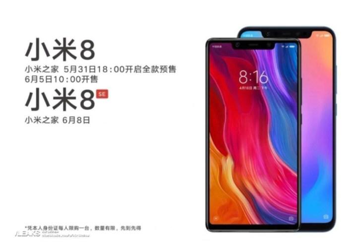 Snapdragon 710 Qualcomm Xiaomi Mi 8 SE Xiaomi Mi 8 Android