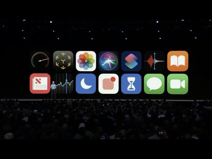 iOS 12 Apple iPhone WWDC