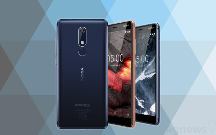 Nokia 5.1 Android One Google cores
