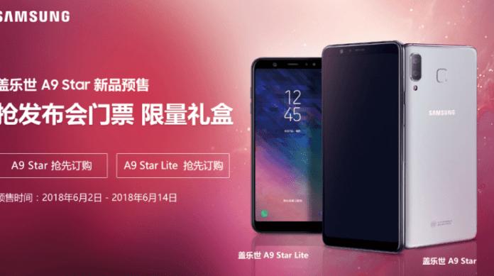 Samsung Galaxy A9 Star Android