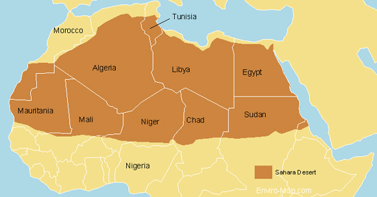 AFRICA: Saharan Defense Pact