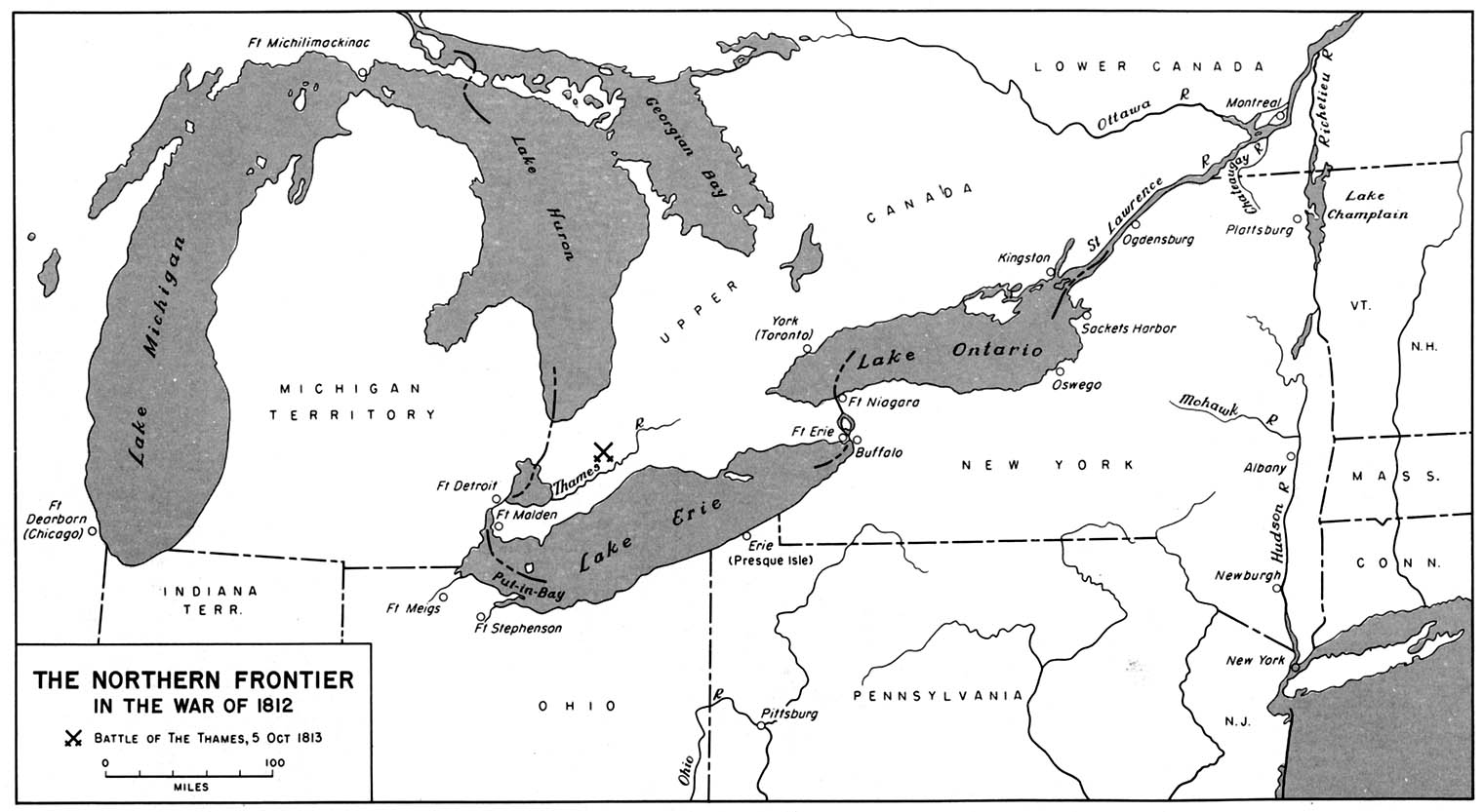 Great Lakes In War Of