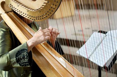 Margaret Atkinson harp lessons