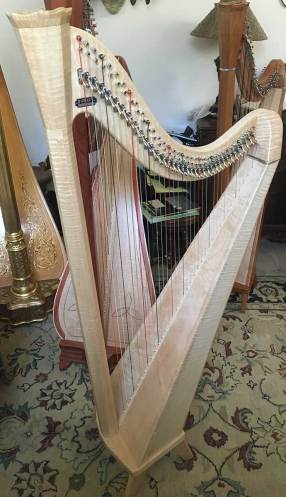 Birds Eye Maple Pratt Princessa Harp for Sale in Dallas
