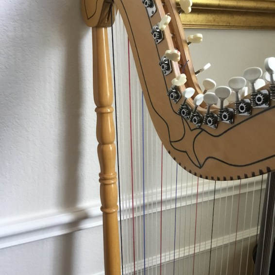 Hand Made Harp from Paraguay for Sale or Rent