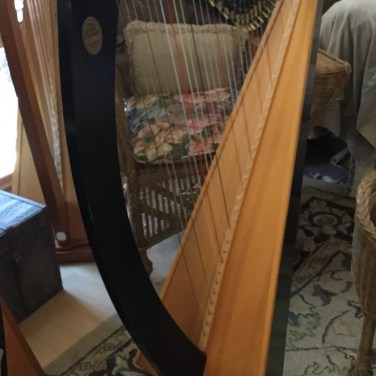 The Troubadour Harp for Sale or Rent