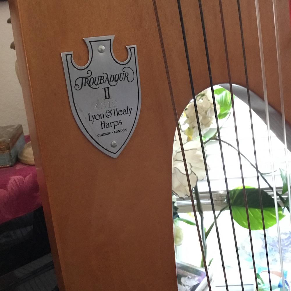 Troubador II Harp for Sale or Rent