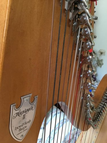 Lyon & Healy Troubador II for Sale or Rent - new Camac levers