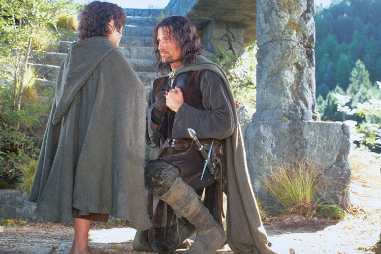 Frodo Aragorn