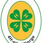 Logo 4H-gård Norge 2014