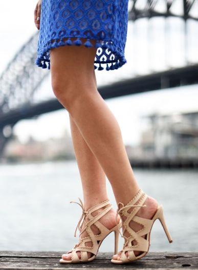 sydne-style-wears-schutz-lace-up-nude-sandals-in-sydney-australia