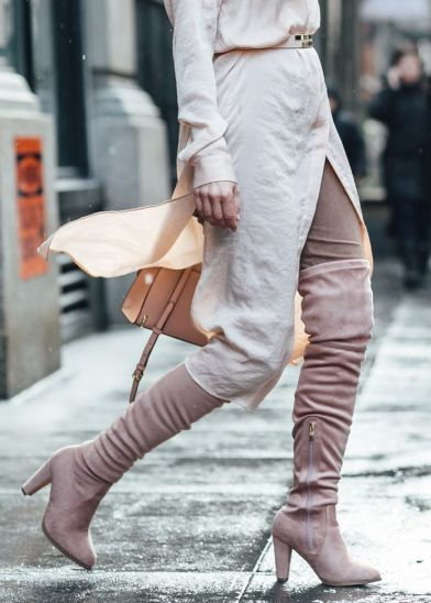 sydne-style-wears-catherine-malandrino-blush-suede-over-the-knee-boots