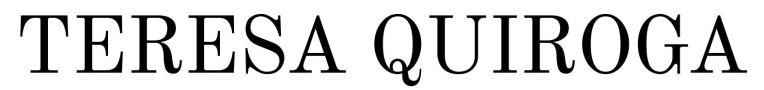 _ Teresa Quiroga logo