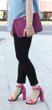 c-houston-style-blogger-wears-pink-block-heel-sandals-black-skinny-jeans-768x993