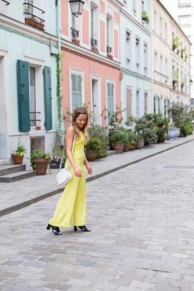 LaPenderie combinaison-pantalon-jaune