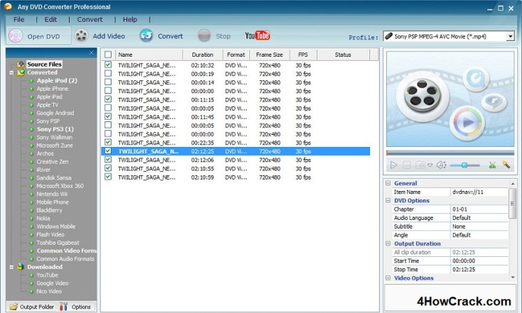 Any DVD Converter Professional License Key