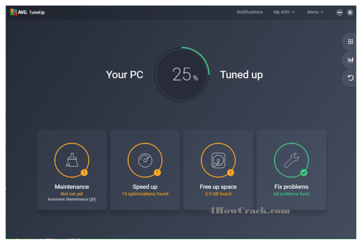AVG PC TuneUp Product Key Free Download