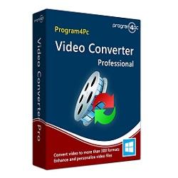 Program4Pc Video Converter Pro Activation Key