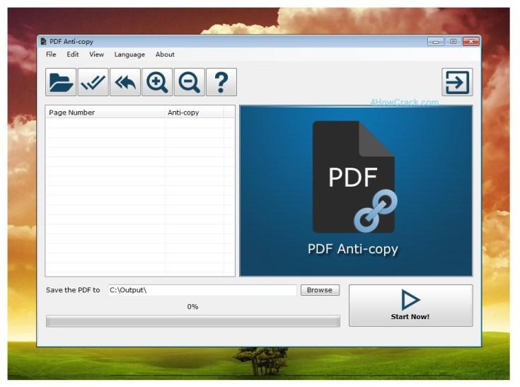 PDF Anti-Copy Pro Crack