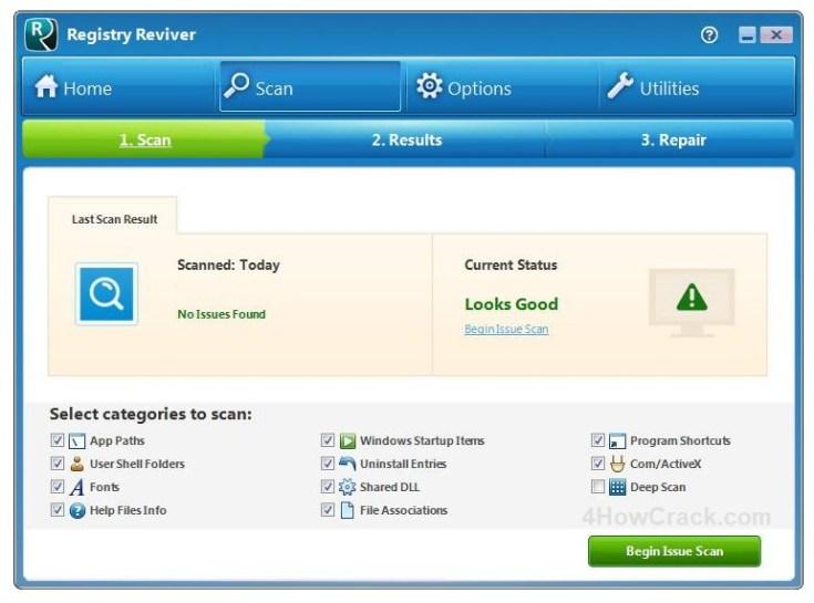 ReviverSoft Registry Reviver Key Download