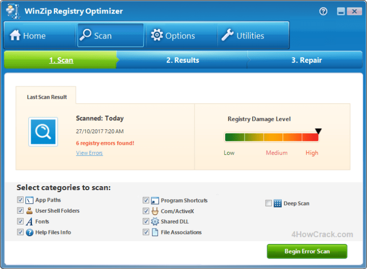 WinZip Registry Optimizer License Key