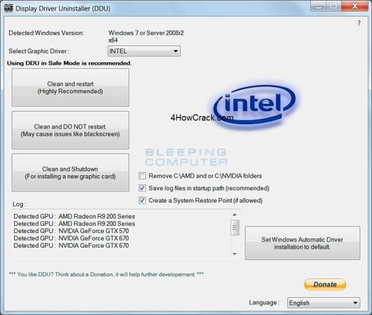 Display Driver Uninstaller Serial Key