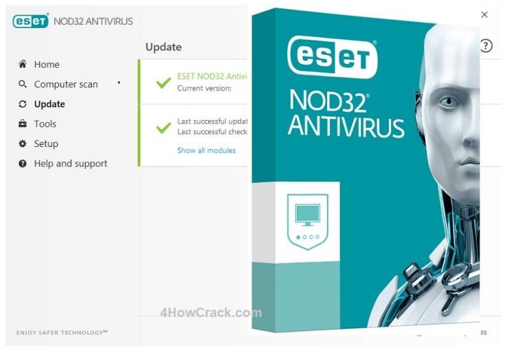 ESET NOD32 Antivirus Download License Key 2020