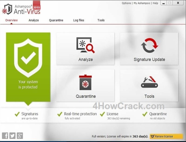 Ashampoo Anti-Virus License Key