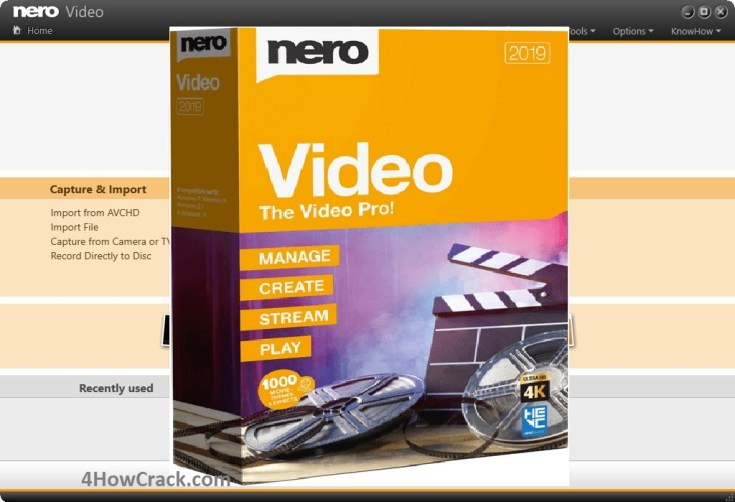 Nero Video Serial Number