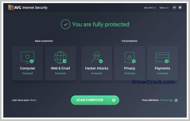 AVG Internet Security Serial Key