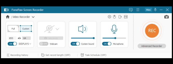 FonePaw Screen Recorder Registration Code